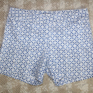 The Limited Printed Cotton Shorts
